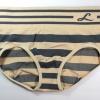 กางเกงในเอวสูง กางเกงในขอบใหญ่ L เส้นหนาทั้งตัว สีเนื้อ