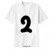 เสื้อยืด ตัวอักษร 2