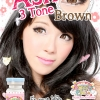 Ash 3 Tone-Brown