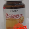 VISTRA B-Complex plus Ginseng บี คอมเพล็กซ์ พลัส จินเส็ง 30 เม็ด ราคา 265 บาท ส่งฟรี