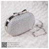 bs0003 กระเป๋าคลัช สีเงิน กระเป๋าออกงานพร้อมส่ง ราคาถูกกว่าเช่า แบบสวยๆ ดูดีเหมือนดาราใช้