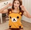 ชุดนอนเสื้อกล้าม ลายหมีริลัคคุมะ Size M