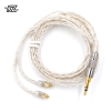 ขาย kz premium mmcx สายทองแดงชุบเงินถักหุ้มฉนวน Kevlar fiber