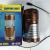 ไฟฉาย + ตะเกียง LED (มีแผงโซล่าเซลล์ ชาร์ตด้วยแสงได้)