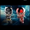Hot Toys COSB398 JUSTICE LEAGUE - BATMAN & THE FLASH (METALLIC COLOR VERSION)