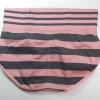 กางเกงในเอวสูง กางเกงในขอบใหญ่ L เส้นหนาทั้งตัว สีชมพู