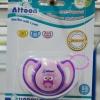 จุกหลอก แฟนซี (หัวกลม) ยี่ห้อ ATTOON (BPA FREE) สีม่วง
