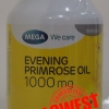 Mega Evening primrose oil (EPO) น้ำมัน อีฟนิงพริมโรส 1000 mg 100เม็ด ราคาถูก 400 บาท ส่งฟรี