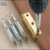 DC01 ดอกเจาะบานพับ ชุด 4 ตัว ขนาดต่อนิ้ว 5/64'' 7/64'' 9/64'' 11/64' ขนาดมิล 2mm 2.8mm 3.5mm 4.5mm