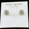 Ball Crystal Earring by KS