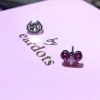 Butterfly Pink Crystal S/S (7524-3526)