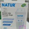 ถุงเก็บน้ำนมแม่ ยี่ห้อ Natur รุ่น BPA Free แพ็ค 50 ถุง/กล่อง