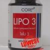Core Lipo3 ไลโป3 50 เม็ด ถูกสุด ส่งฟรี
