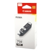 ตลับหมึกแท้ Canon 750 สีดำ Black ราคา 620 บาท