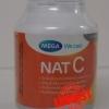 Mega Nat C แนท ซี 1000 mg. 60 เม็ด ราคา 350 บาท ส่งฟรี