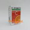 C-FORCE 1000 vit c 1000 mg วิตามินซี 1000 มิลลิกรัม 100 เม็ด ราคาถูก ส่งฟรี