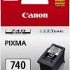 ตลับหมึกแท้ Canon PG-740 หมึกดำ ราคา 450 บาท