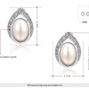 Oval Pearl Water Drop