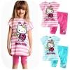 ชุดเด็กผู้หญิง เสื้อลายคิตตี้สีชมพูกับกางเกงชมพู ยกแพ็ค 5 ชุด (ราคา 200 บาท/ชุด) ขนาด 100-140