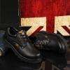 รองเท้าหนัง CAT-CATERPILLAR รองเท้าเดินป่า สีดำ หนังแท้ พื้นยางนุ่มๆ สินค้างาน AAA+ รุ่นไม่หุ้มข้อ