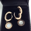Hoop Round Earrings by BVL