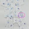 ชุดผูกหน้าแขนยาว พร้อมกางเกงขายาว ลายหมีขายาว (สีฟ้า) ยี่ห้อ PAPA