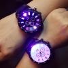 นาฬิกาข้อมือเรืองแสง LED ไฟกระพริบ