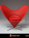 PLAY TOYS M002-C LOVE CHAIR (RED)