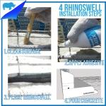 ภาพการติดตั้ง ยางบวมน้ำ RHINOSWELL และ CETCO RX101 อย่างเข้าใจง่าย
