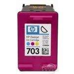 ตลับหมึกสี HP 703 Color (มือ2) พร้อมใช้
