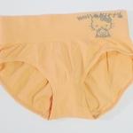 กางเกงในหญิง ลาย Kitty สีส้ม