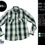 C2016 เสื้อลายสก๊อต ผู้ชาย แนว ญี่ปุ่น Tokyo laundry