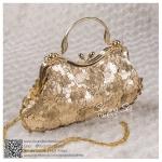 bs0014 กระเป๋าคลัช สีทอง กระเป๋าออกงานพร้อมส่ง ราคาถูกกว่าเช่า แบบสวยๆ ดูดีเหมือนดาราใช้