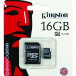 SD card Kingston 16 GB