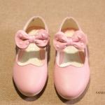 Pre-order รองเท้า / แพ็คละ 5 คู่ / สีชมพู