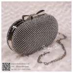 bs0003 กระเป๋าคลัช สีดำ กระเป๋าออกงานพร้อมส่ง ราคาถูกกว่าเช่า แบบสวยๆ ดูดีเหมือนดาราใช้