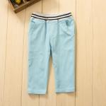 กางเกงเด็กใส่ได้ทั้งผู้หญิงและผู้ชาย สีฟ้า ยกแพ็ค 5 ตัว (ราคา 160 บาท/ตัว) ขนาด 100-140