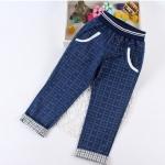 Pre-order กางเกง / แพ็คละ 5 ตัว / สีน้ำเงิน