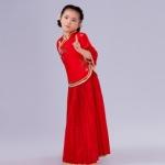 Pre-order ชุดอาเซียน / Size 130 / สีแดง