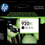 ตลับหมึกแท้ HP920XL ฺBlack สีดำ ราคา 1000 บาท