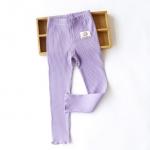 Pre-order กางเกงเลคกิ่ง / แพ็คละ 5 ตัว /สีม่วง