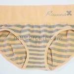 กางเกงในหญิง ลาย Rowena สีส้ม