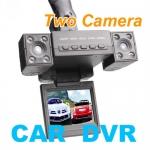 กล้องติดรถ Car DVR duo 1280x480 2กล้อง