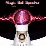 ลำโพงมีไฟ ลำโพงพลาสม่า (Plasma Ball Speaker)