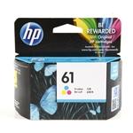ตลับหมึก HP 61 Color 3 สี ราคา 500 บาท