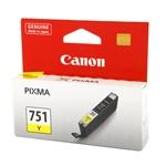 ตลับหมึกแท้ Canon 751 สีเหลือง Yellow ราคา 520 บาท