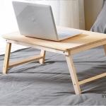 โต๊ะพับ ไม้สนออสเตรเลีย ขนาด 60x40 สูง28 ซม. สีธรรมชาติ