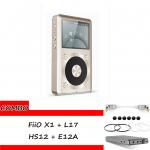 ขาย FiiO X1 + L17 + HS12 + E12A ชุด Combo Set ที่ดีที่สุดสำหรับการฟังเพลงของคุณ