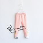 Pre-order กางเกงเลคกิ่ง / แพ็คละ 5 ตัว /สีชมพู