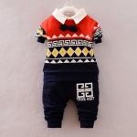 Pre-order ชุดเสื้อ+กางเกง / แพ็คละ 4 ตัว / Size S M L XL /สีกรม